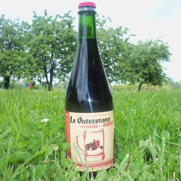 -Bière rousse – La Quévertoise